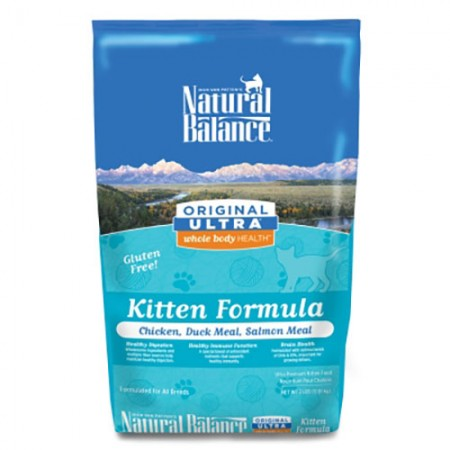 Natural Balance Original Ultra Whole Body Health Kitten Formulas