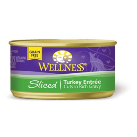 Wellness Sliced Entrees for Cats