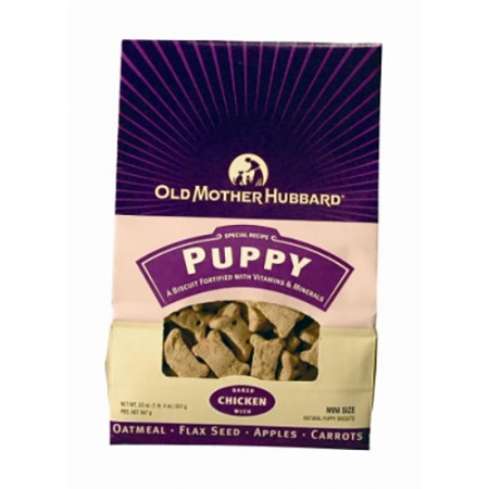 Old Mother Hubbard Classic Oven-Baked Dog Biscuits - Puppy Recipe - Mini - 20 oz
