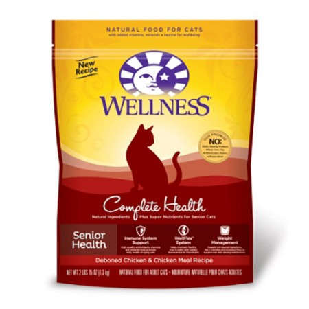Wellness Complete Health Senior Health for Cats