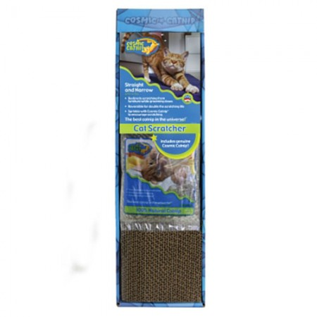 OurPets Straight And Narrow Catnip Scratcher