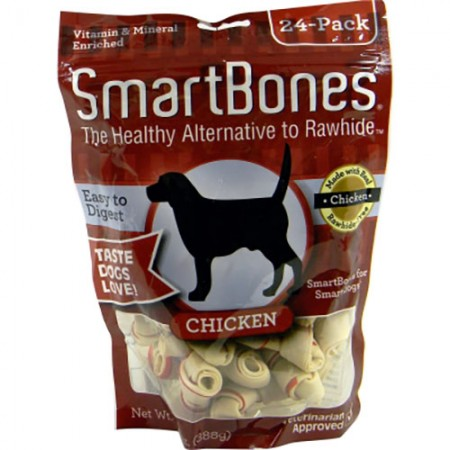 Smart Bones Classic Bone Chews - Chicken - Mini - 24 pk