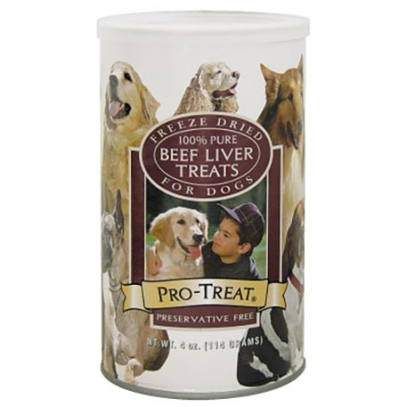 Stewart Pro-Treat - Freeze Dried Liver - 4 oz