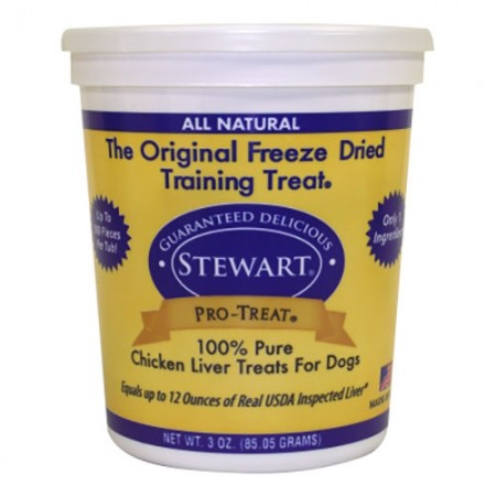 Stewart Pro-Treat Freeze Dried Chicken Treats - 3 oz