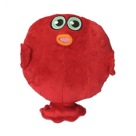 Hear Doggy! Plush Toy with Ultrasonic Squeaker - Blow Fish - Small