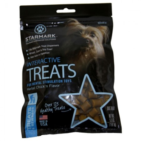 Starmark Interactive Treats - Wheat/Corn/Soy-Free - Chick'n Flavor - 5.5 oz