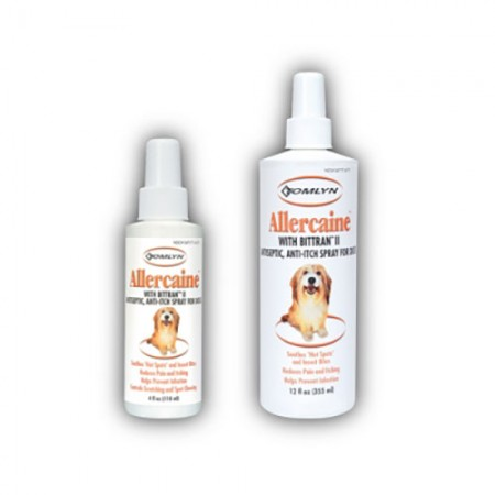 Tomlyn Allercaine Anticeptic & Anti-Itch Spray - 4 oz