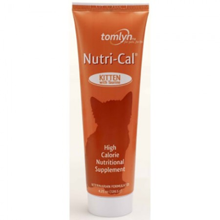 Tomlyn Nutri-Cal High Calorie Gel Supplement - Kitten - 4.25 fl oz