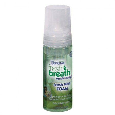 TropiClean Fresh Mint Foam - 4.5 fl oz