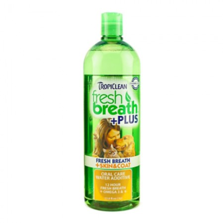 TropiClean Skin & Coat + Fresh Breath Water Additive - 32 fl oz