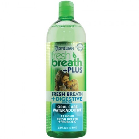 TropiClean Digestive + Fresh Breath Water Additive - 32 fl oz