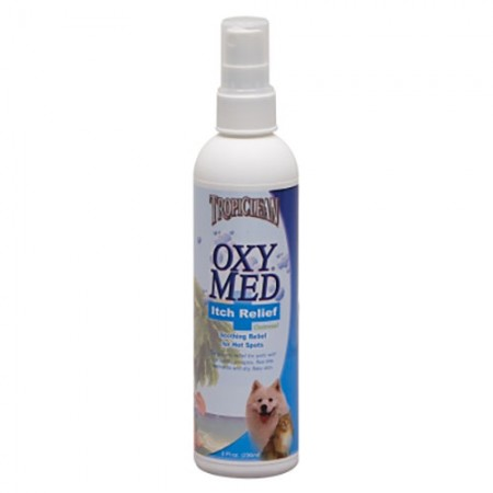 TropiClean OxyMed Anti-Itch Spray - 8 fl oz