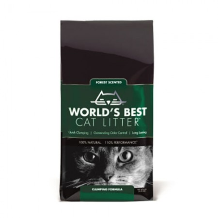 World's Best Forest Scented Clumping Litter