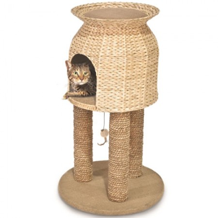 Ware Manufacturing Hy&Jute Scratch & Sleep Tower - 17.75""