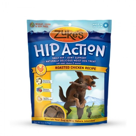 Zuke's Hip Action Treats - Roasted Chicken Recipe - 6 oz