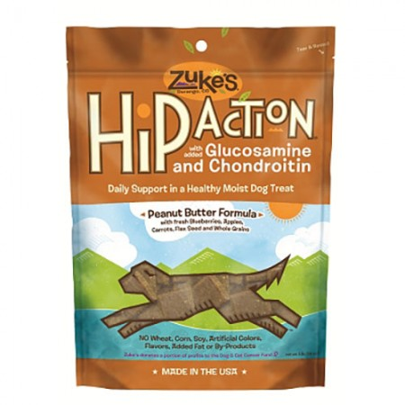 Zuke's Hip Action Treats - Roasted Beef Recipe - 1 lb