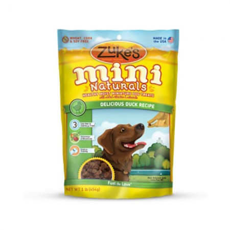 Zuke's Mini Naturals - Delicious Duck Recipe - 1 lb
