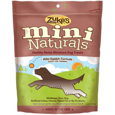 Zuke's Mini Naturals - Wild Rabbit Recipe - 1 lb