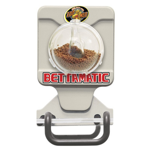 Zoo med bettamatic automatic daily betta feeder for Automatic betta fish feeder