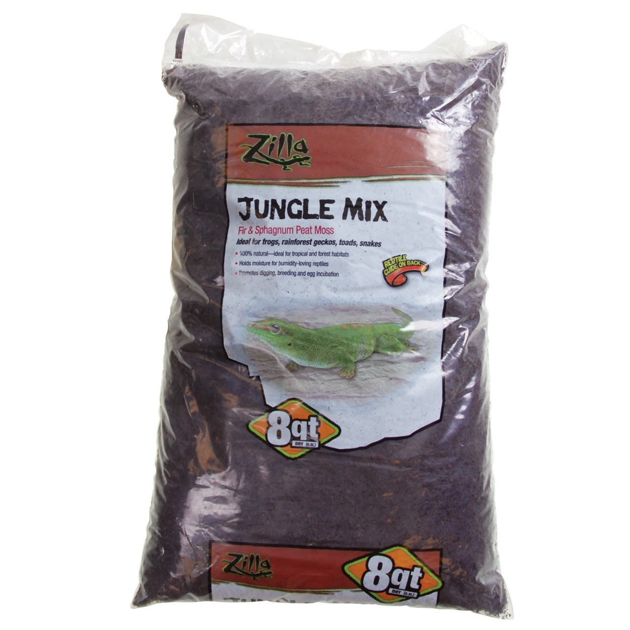 zilla jungle mix premium reptile bedding