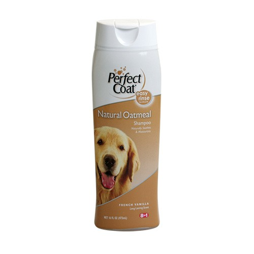 Perfect Coat Natural Oatmeal Shampoo - French Vanilla Scent