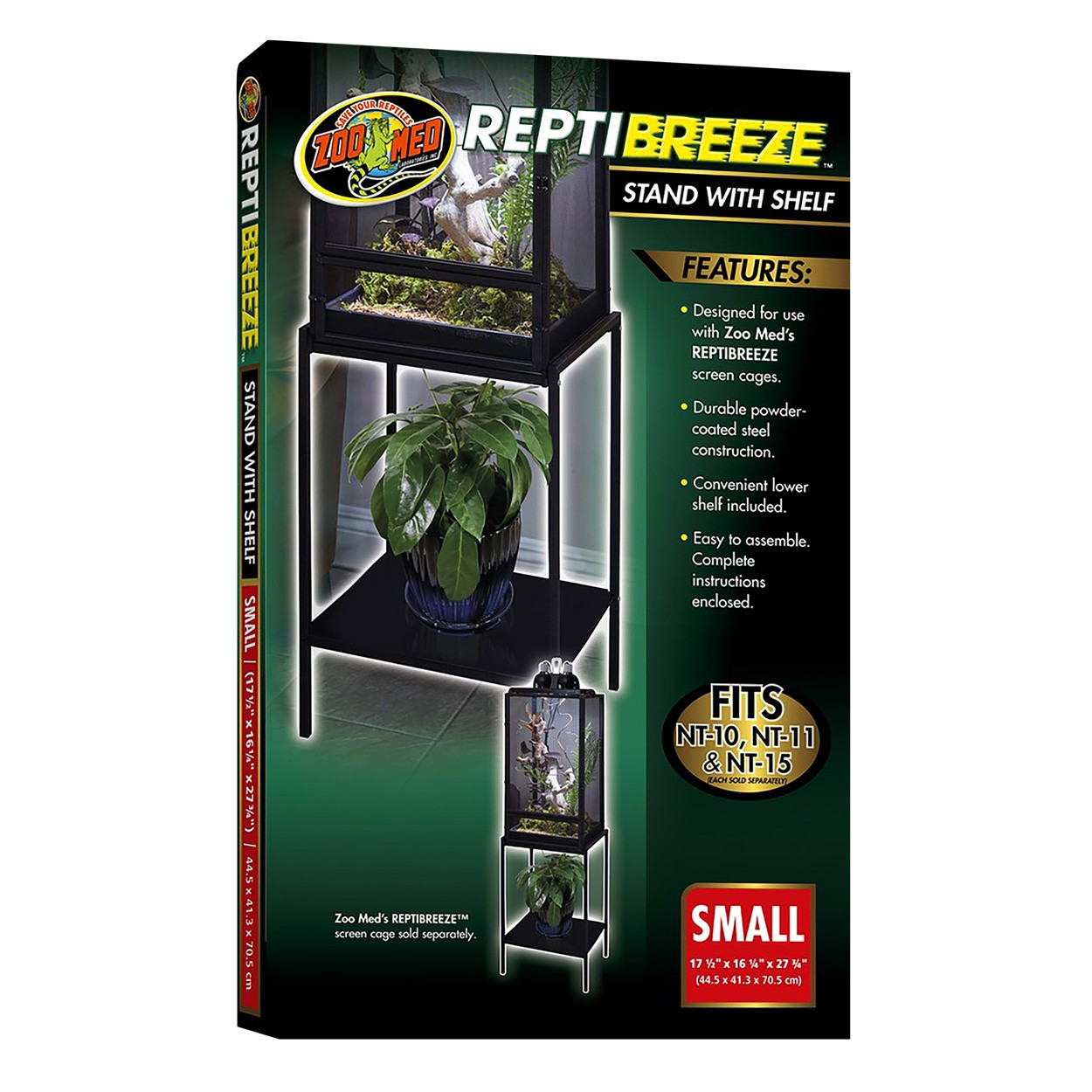 Zoo Med Reptibreeze Stands With Shelves