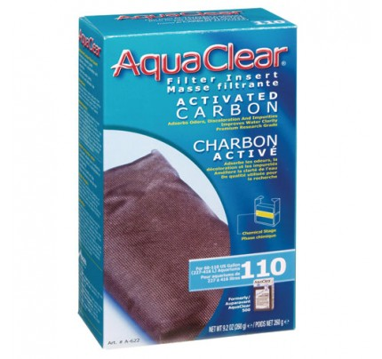 Hagen Activated Carbon Filter Insert for AquaClear 110/500 - 1 pk