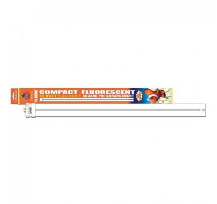 Coralife 10,000K Compact Fluorescent Lamp - Square Pin - 65 W - 21""
