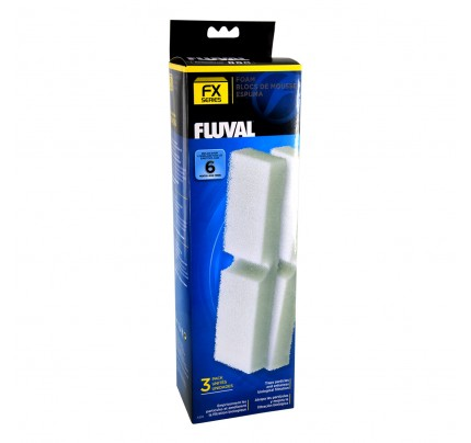 Fluval Foam Filter Blocks for FX Series - 3 pk