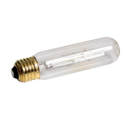 Zoo Med Highlights Incandescent Tubular Lamp - Clear - 15 W