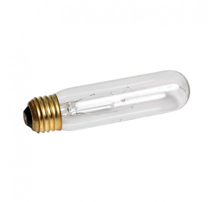 Zoo Med Highlights Incandescent Tubular Lamp - Clear - 25 W