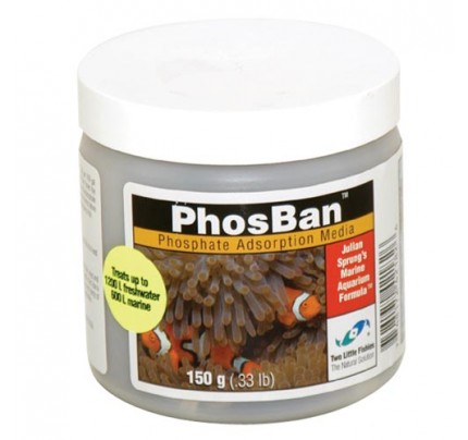 Two Little Fishies PhosBan Phosphate Adsorption Media - 150 g