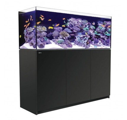 furniture aquarium. red sea reefer rimless reefready aquarium system 450 black furniture