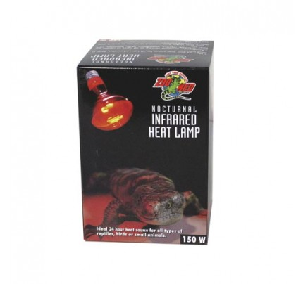 Zoo Med Nocturnal Infrared Heat Lamp - 150 W
