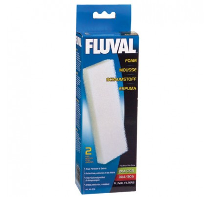 Fluval Foam Filter Blocks for 204/205/206/304/305/306 - 2 pk