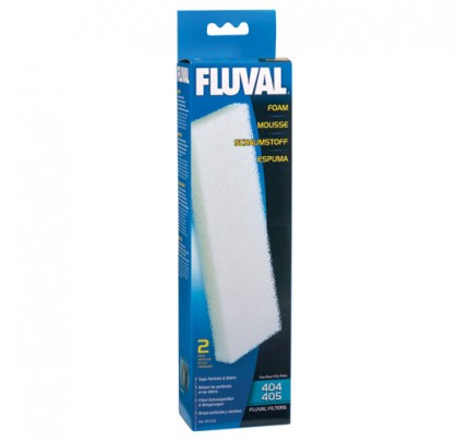 Fluval Foam Filter Blocks for 404/405/406 - 2 pk