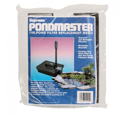 Pondmaster Replacement Media for 190 Pond Filter