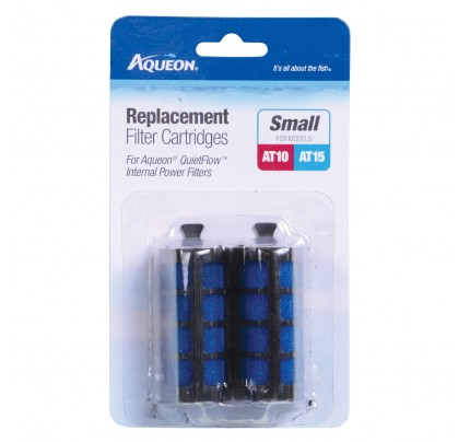 Aqueon Filter Cartridges for QuietFlow Internal Filters - Small - 2 pk