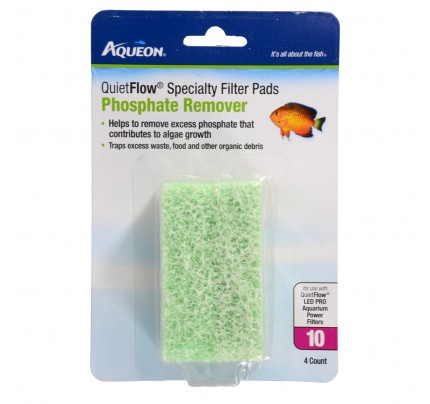 Aqueon Phosphate Spec Pad for QuietFlow 10