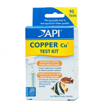 API Copper Test Kit - Freshwater/Saltwater