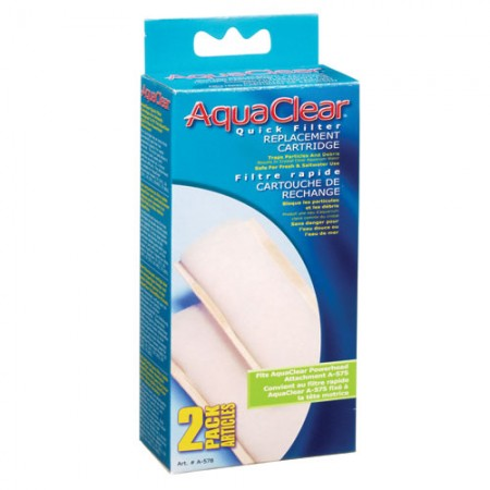 Hagen Aquaclear Quick Filter Replacement Cartridge - 2 pk