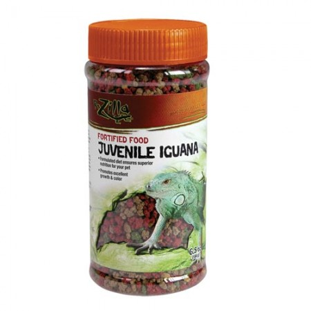 Zilla Fortified Juvenile Iguana Food - 6.5 oz