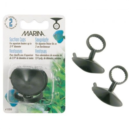 """Marina Suction Cups for Heaters (up to 3/4"""" dia.) - 2 pk"""