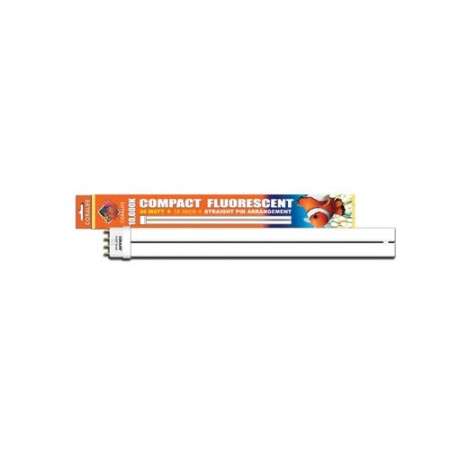 """Coralife 10,000K Compact Fluorescent Lamp - Straight Pin - 36 W - 16"""""""