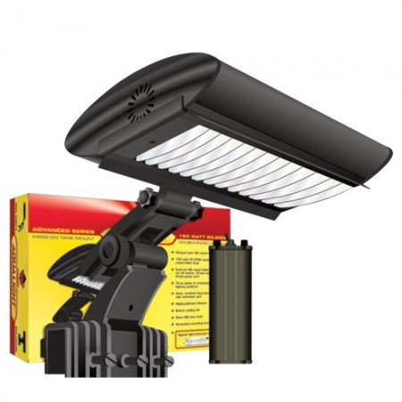 Coralife Aqualight Advanced Series Tank Mount HQI Fixture - 150 W