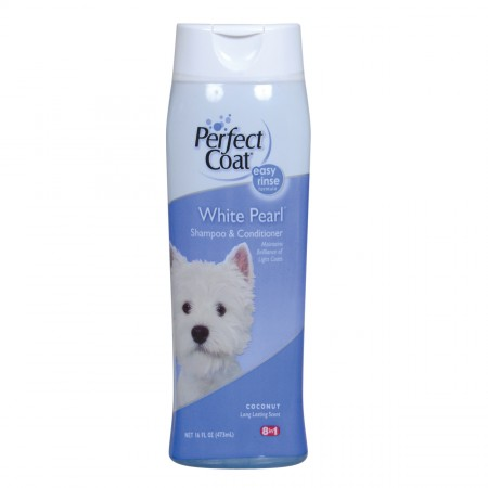 Perfect Coat White Pearl Shampoo - Coconut Scent