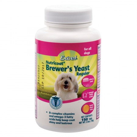 Excel Brewer's Yeast with Garlic Chew Tabs