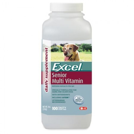 Excel Multi-Vitamins for Senior Dogs - 100 Tabs
