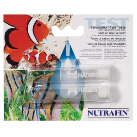 NutraFin Test Tubes with Caps - 2 pk