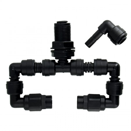 MistKing Double Misting Assembly - Value L-Fitting